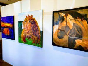 Expressionist Artwork Donald Ryker Xanadu Gallery Pinetop
